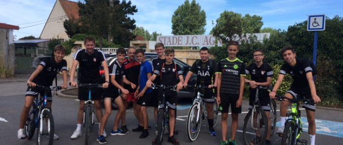 Du run and bike pour les U16